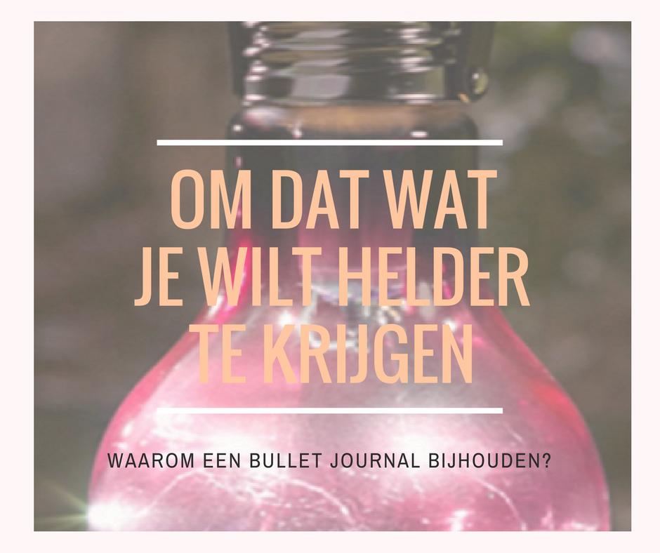bullet journal helderheid