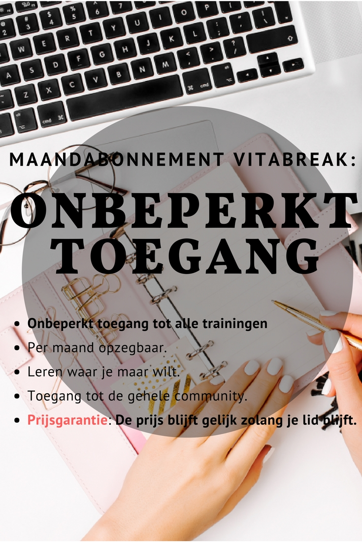 Maandabonnement vitabreak