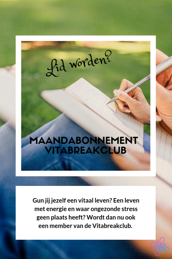Vitabreak maandabonnement