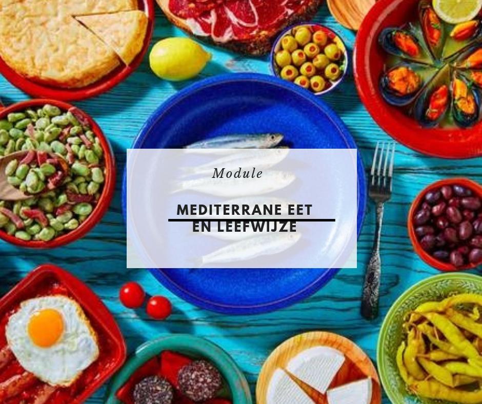 gezonde mediterrane eetwijze