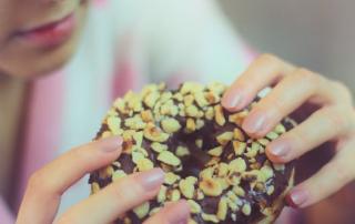 te veel eten door stress