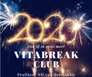 Aanbieding vitabreakclub lidmaatschap